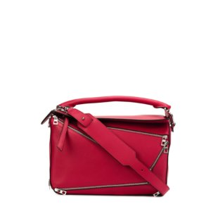 Loewe Puzzle Tote Bag Red