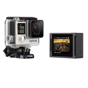 $244.00 GoPro HD HERO4 Silver Edition Action Camcorder CHDHY-401 (Manufacturer Refurbished)