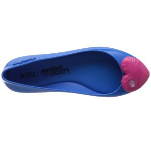 Melissa Shoes Space Love + JS Blue/Pink - 6pm.com