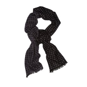 Reversible Dot Scarf