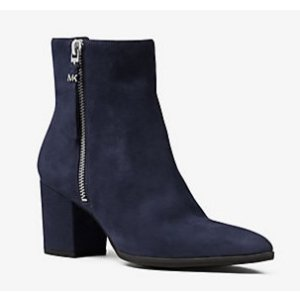 MICHAEL MICHAEL KORS Dawson Suede Ankle Boot