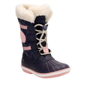 FabYou GTX Youth Navy Leather - Girls Boots - Clarks® Shoes Official Site