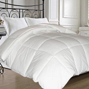 Symple Stuff Natural Feather All Season Down Comforter & Reviews | Wayfair