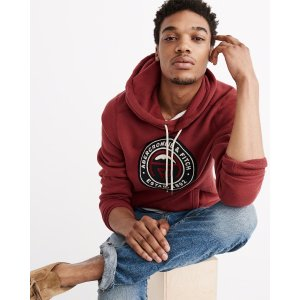 Mens Graphic Pullover Hoodie | Mens Clearance | Abercrombie.com