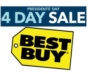 Presidents' Day4 Day Sale