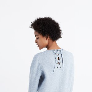 Laced-Back Pullover Sweater : AllProducts | Madewell