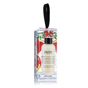 purity made simple | one-step facial cleanser | philosophy holiday