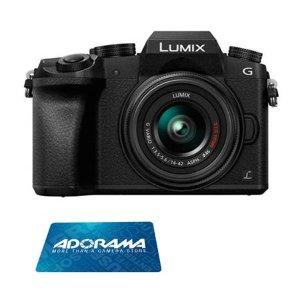 Panasonic Lumix DMC-G7 + 14-42mm w/ $50 Gift Card