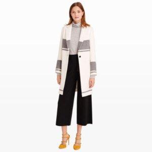 Women | Coats and Trench Coats | Keliee Blanket Stripe Coat | Club Monaco