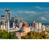 6 Day Tour to Seattle, Olympia, Portland, Florence, Sea Lion Caves, Woodburn Outlets, Olympic National Park, Space Needle, First Starbucks, Boeing factory, Pioneer Square etc.