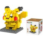 $6.88 LOZ Diamond Blocks Nanoblock Pokemon Pikachu Educational Toy 120pcs