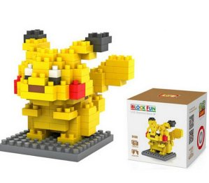 $6.88 LOZ Diamond Blocks Nanoblock Pokemon Pikachu Educational Toy 120pcs