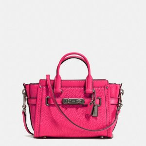 COACH: Swagger 15 In Pebble Leather