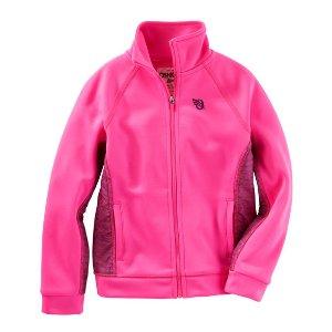 Kid Girl Neon Track Jacket | OshKosh.com