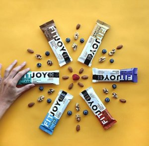 $5!! FitJoy Nutrition Protein Bar 12 Packs