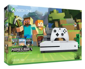好价复活,$229.99Xbox One S 500GB Minecraft套装