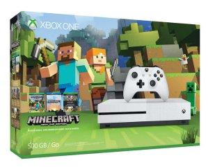2016 Black Friday! $229.99Xbox One S 500GB Minecraft Bundle