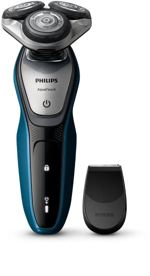 £59.99 Philips AquaTouch S5420/06, Wet and Dry Men's Electric Shaver