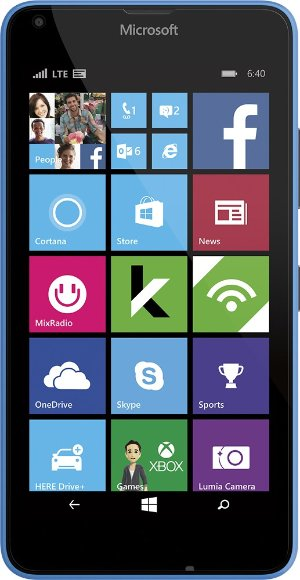 As low as $19.99! Microsoft Lumia 640 4G LTE Prepaid Smartphone - Cricket Wireless