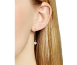 AQUA Ashlynn Threader Earrings