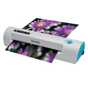 Scotch Thermal Laminator, 2 Roller System, Fast Warm-up, Quick Laminating Speed