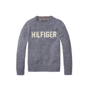 Th Kids Signature Crewneck Sweater | Tommy Hilfiger USA