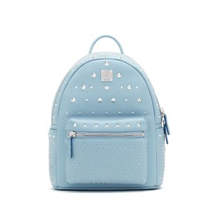 Small STARK SPECIAL BACKPACK in Blue by MCM