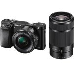Sony Alpha A6000 Mirrorless Digital Camera w/16-50mm /55-210mm Lens + Accessorie