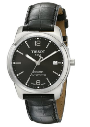 Tissot Men's T0494071605700 PR 100 Black Automatic Dial Watch