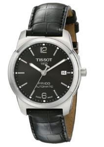 Tissot Men's T0494071605700 PR 100 Black Automatic Dial Watch