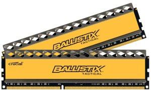 Ballistix Tactical 16GB Kit 8GBx2 DDR3 1600 MT/s PC3-12800 CL8 at 1.5V