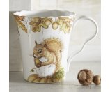 Mazey the Squirrel Porcelain Mug | Pier 1 Imports