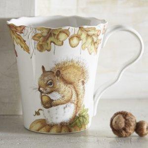 Mazey the Squirrel Porcelain Mug | Pier 1 Imports