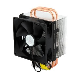 $7!Cooler Master Hyper T2 - Compact CPU Cooler with Dual Looped Direct Contact Heatpipes