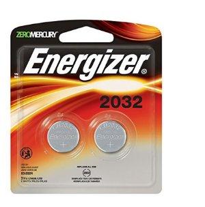 $1.63Energizer Watch/Electronic Batteries, 3 Volts, 2032, 2 batteries