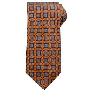 Signature Geo Medallions Tie CLEARANCE - Clearance Ties   Jos A Bank