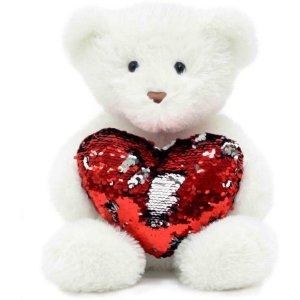 $7.79情人节好礼,超萌43厘米高爱心熊熊