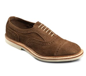 $147STRANDMOK 2.0 SUEDE CAP-TOE OXFORDS