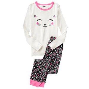Cat 2-Piece Pajama Set at Crazy 8