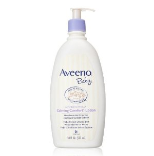 Aveeno Baby Calming Comfort Lotion, Lavender and Vanilla, 18 Fluid Ounce