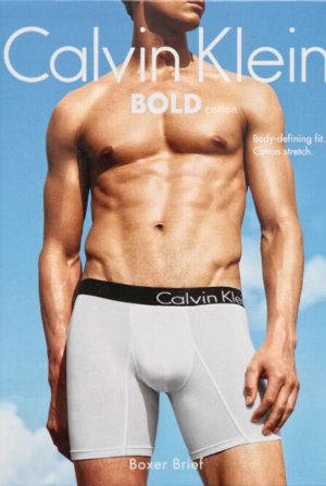 Calvin Klein Men's 2-Pack Bold Cotton Boxer Brief