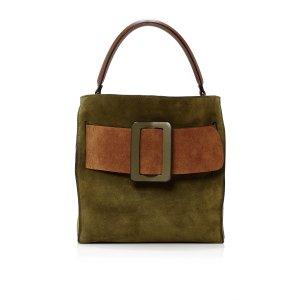 Colorblock Suede Devon Bag by BOYY
