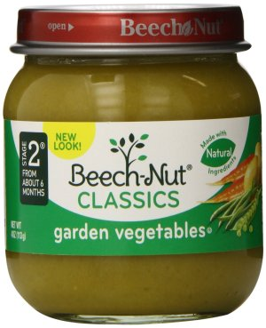 $6.00 ($4.80 for Prime Member) Beech-Nut Classics, Garden Vegetables, 4 Ounce (Pack of 10)