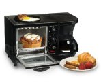 $27.89 Elite Cuisine EBK-200B Maxi-Matic 3-in-1 Multifunction Breakfast Center, Black