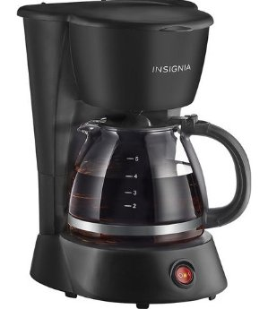 Insignia 5-Cup Coffeemaker