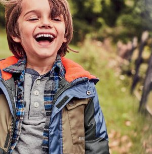 Ends Tonight!  Extra 25% Off Kids Outwear Sale @ OshKosh BGosh