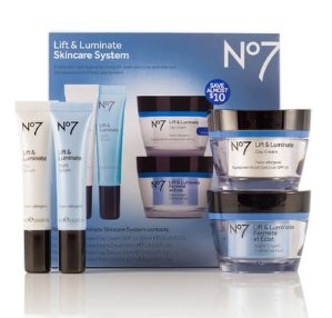 Dealmoon Exclusive! 32% Off Boots No.7 Lift and Luminate Skincare System @ SkinStore