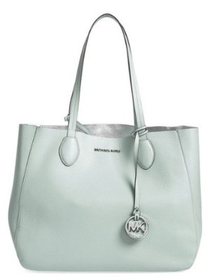 MICHAEL Michael Kors 'Large Mae' Reversible Leather Tote