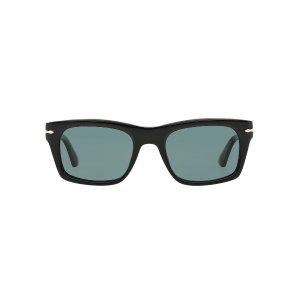Persol PO3065S 55 Blue & Black Polarized Sunglasses | Sunglass Hut USA