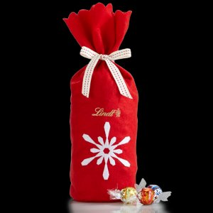 Create Your Own Snowflake LINDOR Truffles 75-pc Gift Bag | Lindt Chocolate